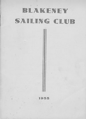 BSC 1955 Yearbook Cover